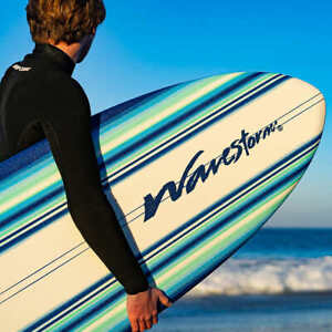 "Wavestorm 5'8"" Retro Fish Surfboard"