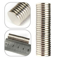 25 PCS 12X2MM N52 SUPER STRONG ROUND DISC RARE EARTH NEODYMIUM MAGNETS SMART