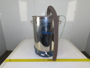 Nordson NHR-2-50 50 Lbs. Powder Coating Fluidizing Feed Hopper Powder Coating
