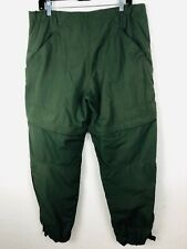 Mountain Hardware Men's Convertible Zip Hiking Pants  ECU Olive Green SZ L  C184
