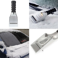 Portable Electric Auto Heating Car Ice Scraper Flashlight Snow Melter Removal