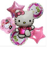 HELLO KITTY PARTY BIRTHDAY BALLOONS HELIUM FOIL Variety Pack NEW HUGE SIZES