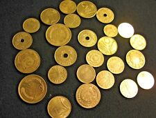 Estate Lot of (26) world coins.  1940s to 1960s.