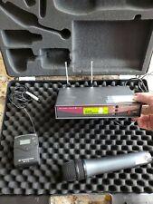 Sennheiser Em100 Receiver Skm100 Mic Sk100 Transmitter W Case