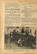 Jouet Locomotive King Roi Siam Rama VI Vajiravudh Usine France 1911 ILLUSTRATION