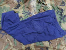 LATEST ISSUE MK2 pcs ROYAL NAVY BLUE combat working fr TROUSERS 80/88/104 MEDIUM
