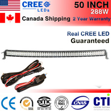 50 inch 288W Curved Cree LED Light Bar