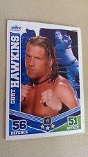 Curt Hawkins Topps Slam Attax Trading Card