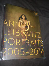 Annie Leibovitz signed Portraits 2005-2016 1st printing hardcover signed edition