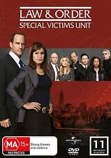 LAW AND ORDER SVU :SPECIAL VICTIMS UNIT SEASON 11 -  DVD & UK Compatible