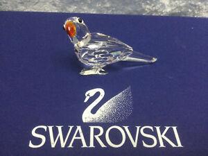 Swarovski Parrot (colored beak) - 7621000009 / 294047. Retired 2009. MIB