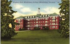 Middlebury, Vermont, Middlebury College, Hepburn Hall - Postcard (CCC)