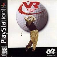 VR Golf '97 Playstation Game PS1 New