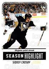 2011-12 Score Glossy #9 Sidney Crosby