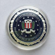 Federal Bureau of Investigation ( FBI ) Challenge Coin