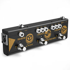 Donner Chain Alpha Acoustic Guitar Effect Pedal Acoustic Preamp Chorus Reverb