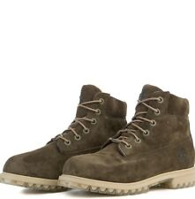 """New Kid's TIMBERLAND 6"""" Brown Suede Waterproof Boots size 2"""