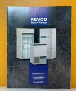Revco General Catalog For Science and Industry.