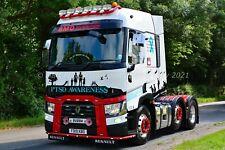 Truck Photo 12x8 - Renault Range T - BMD Distribution - FD19 KBO