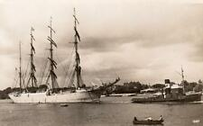 Maggales ?  Sailing Ship Yacht  RP pc Real photo Liverpool