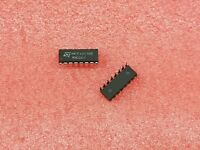 5X ST MICRO HCF4053BE ANALOG MUX TRIPLE 2-CHANNEL CMOS DIP16