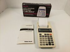 Radio Shack Lcd Handheld Printer Calculator 65-956 Tested Working Portable