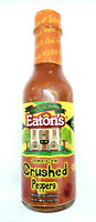 Eaton's Jamaican Crushed Peppers  5 fl oz 148 ml sealed, pepper sauce, 148ml