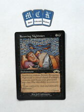 Recurring Nightmare X1 Exodus *VG* Magic the Gathering MTG! Bl