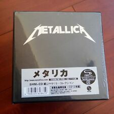 New Metallica The Album Collection 13 Discs CD Mini-LP Japan Box Set Free Shippi