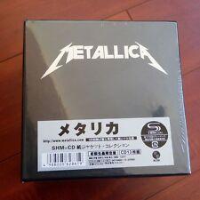 New Metallica The Album Collection 13 Discs CD Mini-LP Japan Box Set Free Shippi
