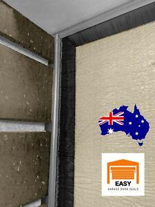 Sectional Overhead Double Garage Door Top & Side Weather Strip Brush Seals