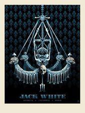 Methane Studios Jack White L'Oympia, Paris II France Poster White Stripes S/N'd
