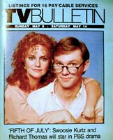 TV Guide 1983 Swoosie Kurtz Richard Thomas Regional TV Bulletin OC VG COA