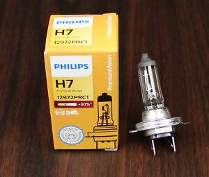 PHILIPS H7 12V55W 12972PR +30% PX26d headlight halogen premium automotive lamp