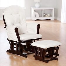 Padded Arm Chair Cushion Ottoman Footstool Cushion Rocker Baby Nursery Furniture