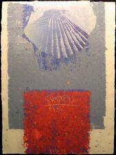Scott Sandell RR-42 Original Hand Made Paper monotype Artwork Art MAKE OFFER