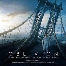 Oblivion [Original Motion Picture Soundtrack] by Joseph Trapanese/M83/Anthony Gonzales (CD, Apr-2013, Back Lot Music)