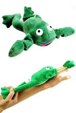 SLINGSHOT FLYING FROG TOY w/ SOUND flingshot dog flying gag G22