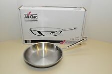 """All Clad Stainless Steel 10 """" Fry Pan New in Box - 3 Ply - Item # 4110"""