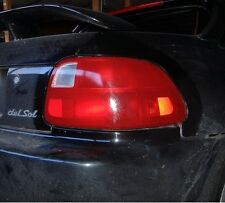 93-96 HONDA DEL SOL TAIL LIGHT SIGNAL PRECUT REDOUT TINT COVER RED OVERLAYS