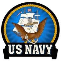 US Bleu marine en forme de signe pst Découpé PRIX RÉDUIT POUR LIQUIDER