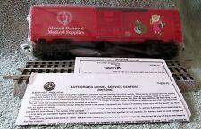 LIONEL 6- 36233 NEW JERSEY MEDICAL SCHOOL ALUMNI ASSOCIATION BOX CAR