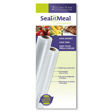 "Seal-a-Meal 11""x9' Bag Rolls, 2 Pack FSSMBF0626-P00W"