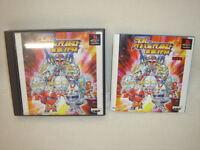SUPER HERO OPERATIONS Sakusen PS1 Playstation PS Banpresto JAPAN Video Game p1