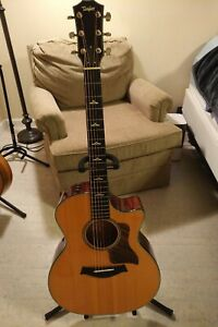 Taylor 614ce Acoustic-Electric Guitar Brown Sugar w/ ES2 Electronics and OHSC