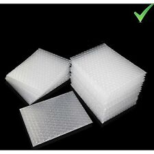 Bubble Cushioning Wrap White Plastic Envelopes Bags Packing Material 50 Pieces