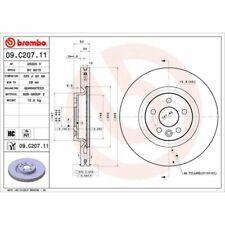 Bremsscheibe COATED DISC LINE BREMBO 09.C207.11, 1 Stück