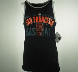 San Francisco Giants Official Majestic Youth Size Sleeveless Shirt New With Tags