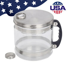 4L Glass Bottle Pure Water Filter Bucket for Water Distiller Glass Jar Water