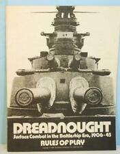 Dreadnought: Surface Combat in the Battleship Era 1906-45 SPI Flat Try Punched